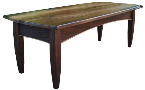 """""""Mineral Stained Maple Coffee Table"""""""