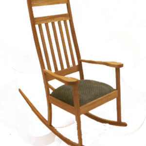 Rocking chair front