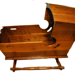 walnut cradle