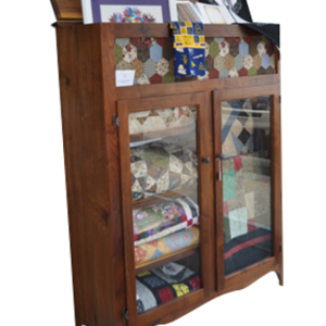 Quilters cabinet