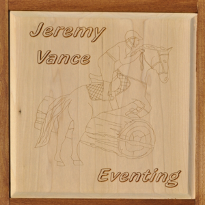 Engraved jumping panel