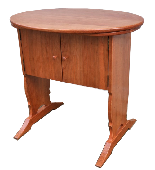 Cherry table for Singer Featherweight Sewing Machine